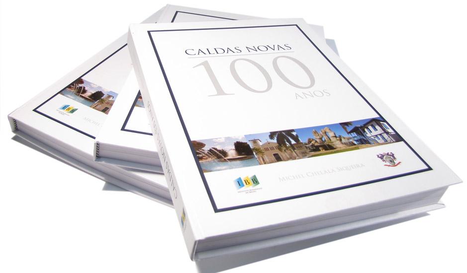Livro Caldas Novas 100 Anos